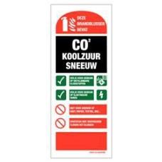 CO2 Blusser gebruiksaanw. PP 80x200MM