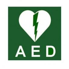Sticker Pictogram AED 20cm