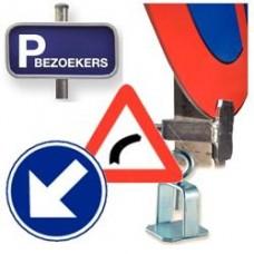 Verkeersborden en toebehoren